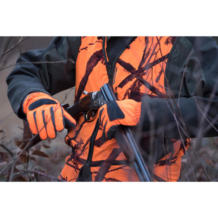 Gilet chasse Compact fluo - 1142505