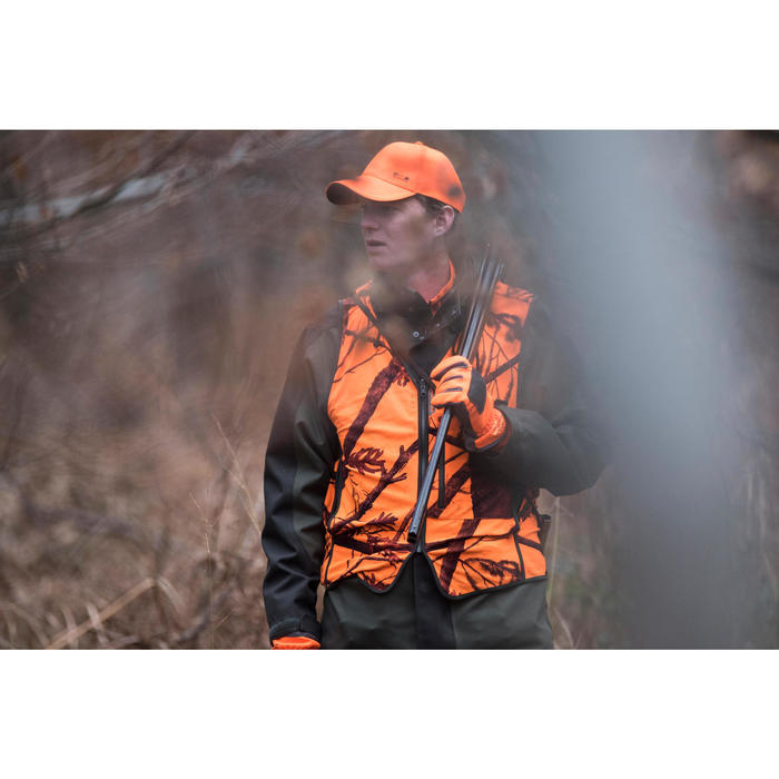 Gilet chasse Compact fluo - 1142508