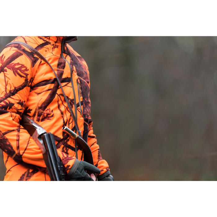 Veste chasse 900 camouflage fluo - 1142509