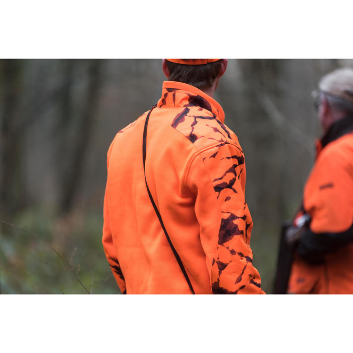 Pull chasse renfort 500 fluo - 1142510