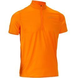 Camiseta Manga corta senderismo Tech Fresh 500 hombre Naranja