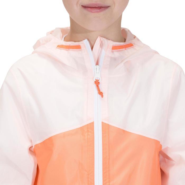Veste imperméable de randonnée enfant Hike 150 gris imprimé tribal - 1142616