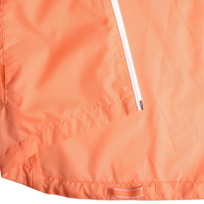 Veste imperméable de randonnée enfant Hike 150 gris imprimé tribal - 1142656