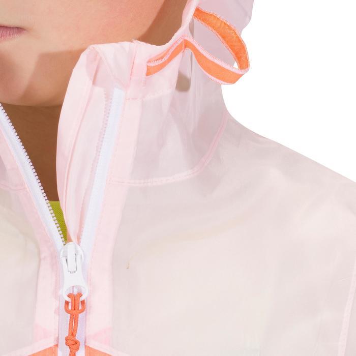 Veste imperméable de randonnée enfant Hike 150 gris imprimé tribal - 1142658