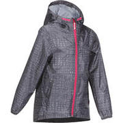 Kid's Raincoat MH150 (2 TO 6 YEARS) - tribal grey print