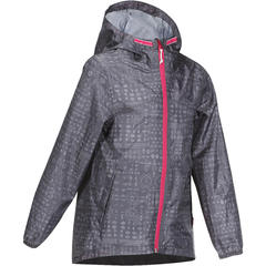 Hiking Waterproof Jacket Kids