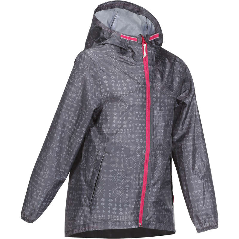 JACKETS & OVERPANT GIRL 7-15 Y Hiking - Girls' Jacket MH150 - Grey QUECHUA - Hiking Clothes