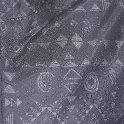 Veste imperméable de randonnée enfant MH150 imprimée grise tribal 2 A 6 ANS