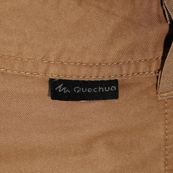 Pantalón Corto de Montaña y Senderismo Naturaleza Quechua NH500 Hombre Marrón