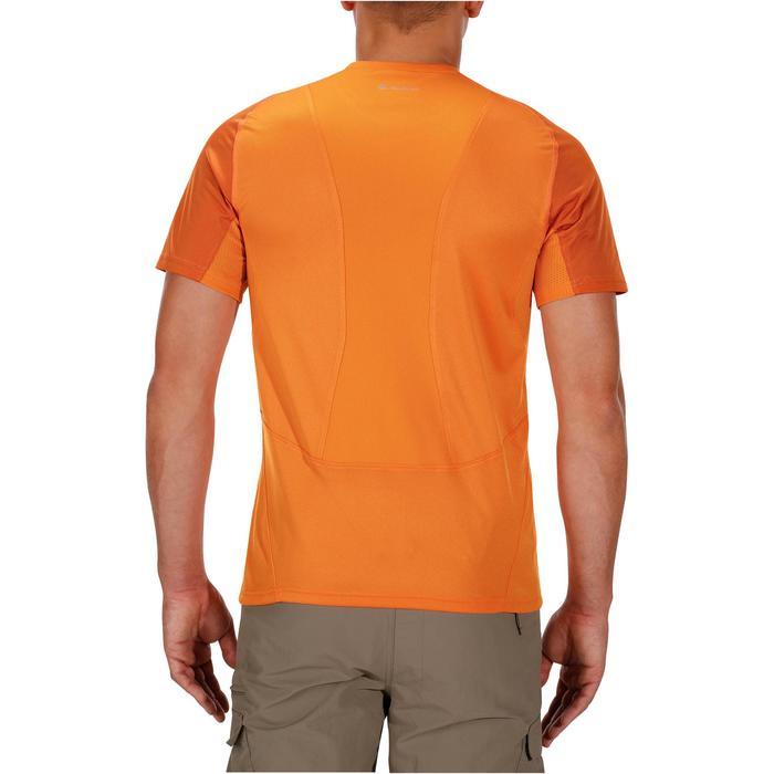 Tee Shirt Manches Courtes Randonnée Tech Fresh 100 homme Gris foncé - 1142710