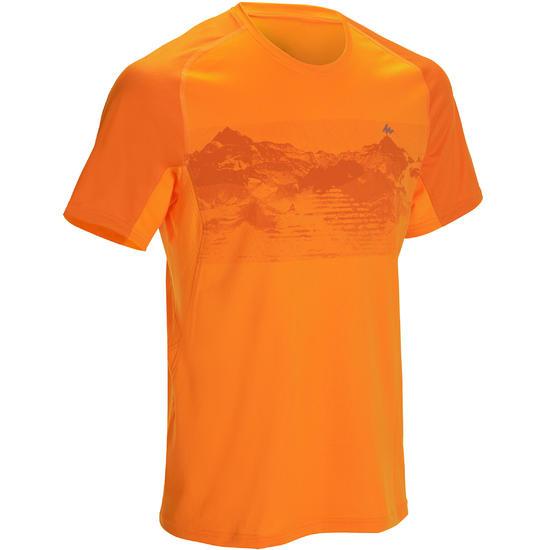 Wandel T-shirt met korte mouwen voor heren Tech Fresh 100 - 1142721