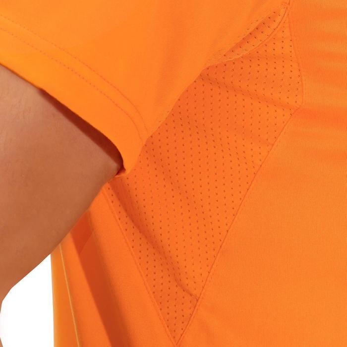 Tee Shirt Randonnée montagne MH100 manches courtes homme Gris Foncé - 1142726