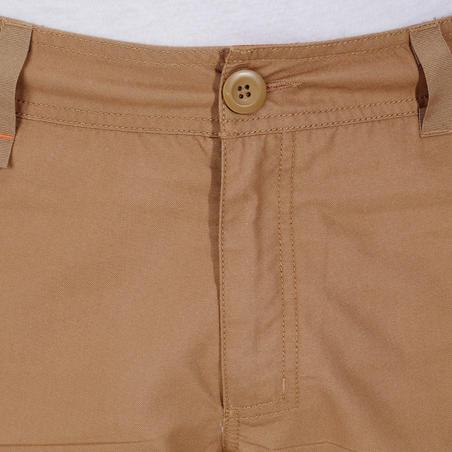 NH500 men's Country  Walking Shorts- Beige