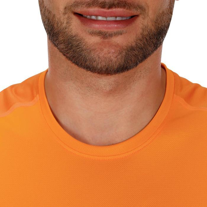 Tee Shirt Manches Courtes Randonnée Tech Fresh 100 homme Gris foncé - 1142748
