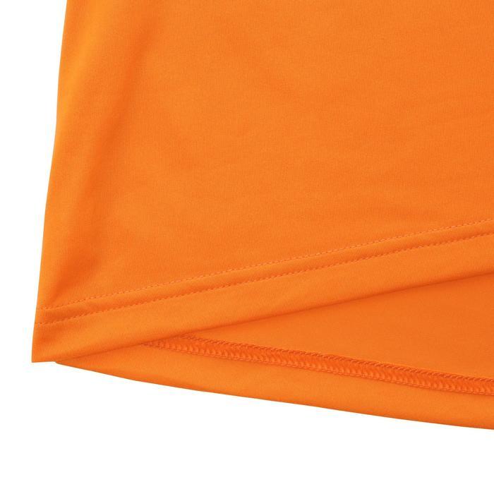 Camiseta manga corta senderismo Tech Frech 50 hombre Naranja