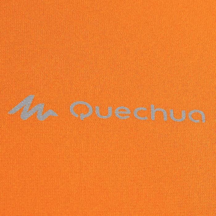 Tee Shirt Randonnée montagne MH100 manches courtes homme Gris Foncé - 1142759