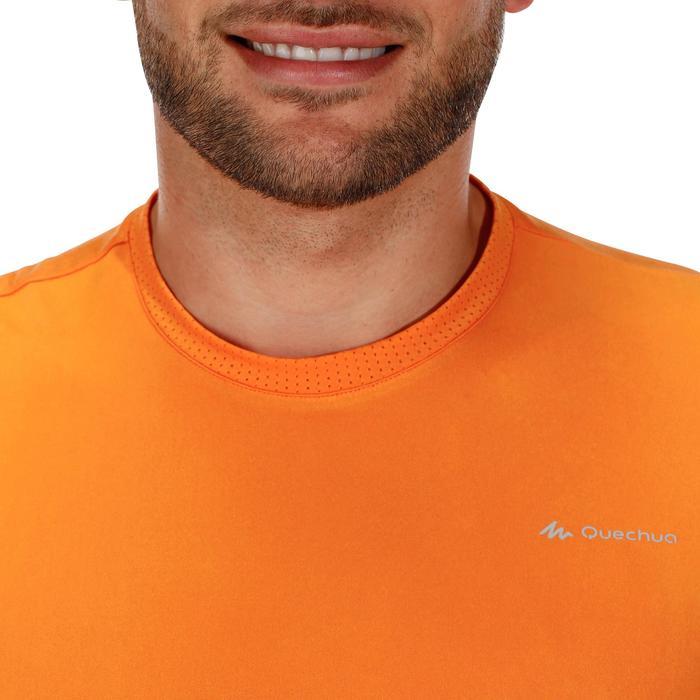 Tee Shirt Randonnée montagne MH100 manches courtes homme Gris Foncé - 1142773