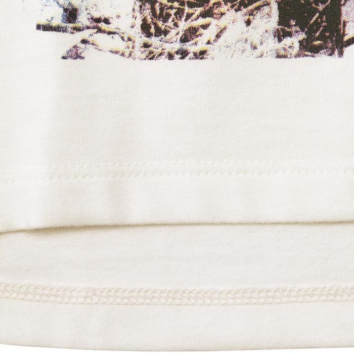 Camiseta de senderismo niña Hike 500 blanco
