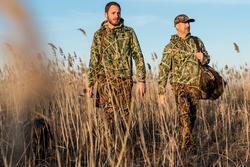 Jagersbroek Steppe 300 camouflage moeras - 1142897