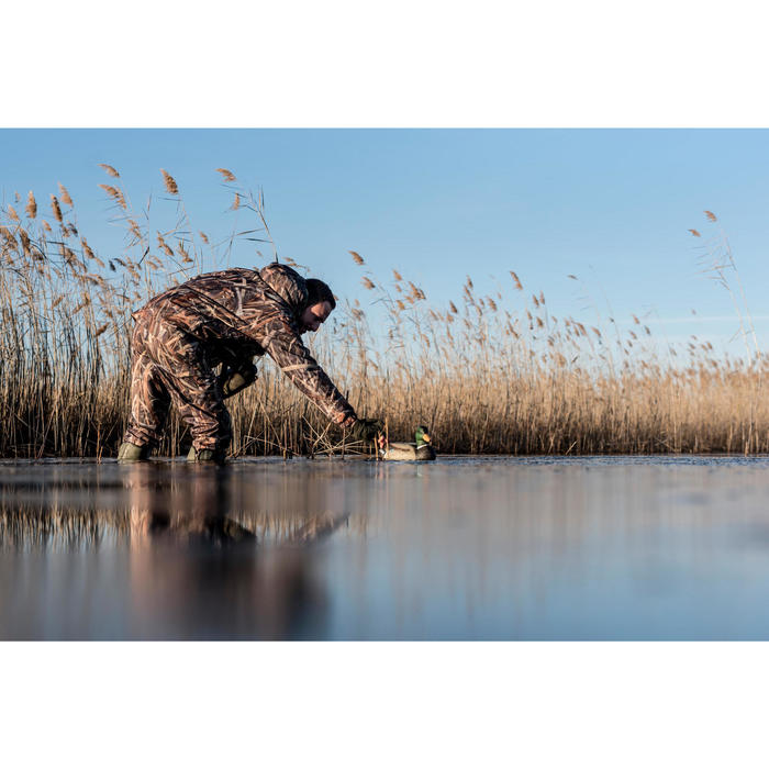 Veste chasse Sibir 300 camouflage marais