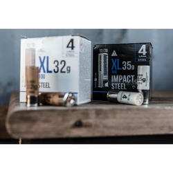 Cartucho CALIBRE 12/76 XL900 35 g Impact Acero perdigón 2 x25