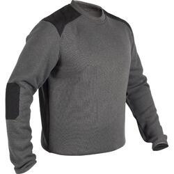 狩獵立領針織衫300-灰色