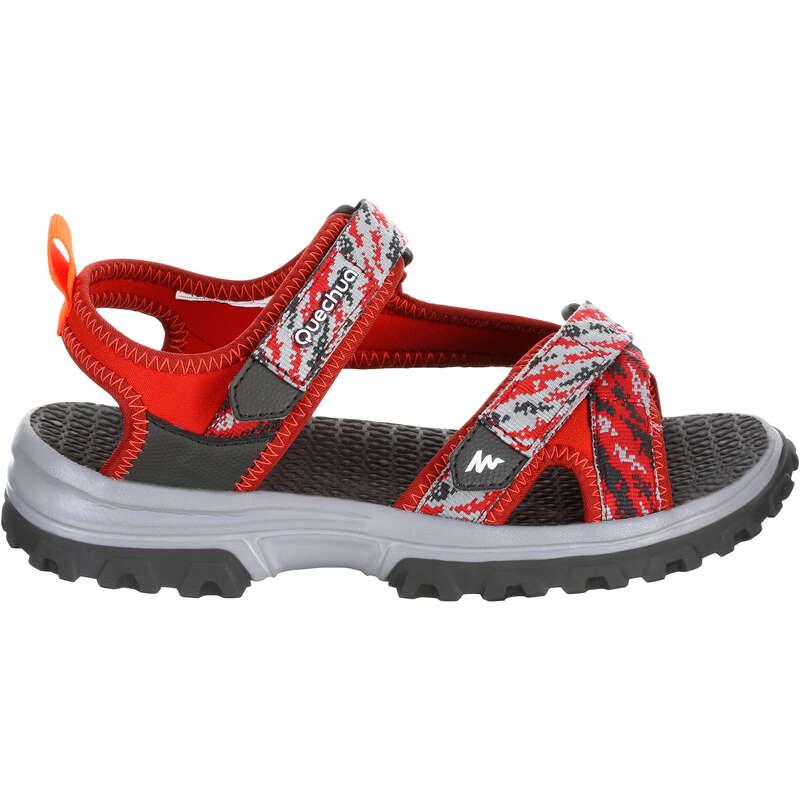 SANDALE BAIETI Incaltaminte - Sandale MH120 Roșu copii QUECHUA - Incaltaminte