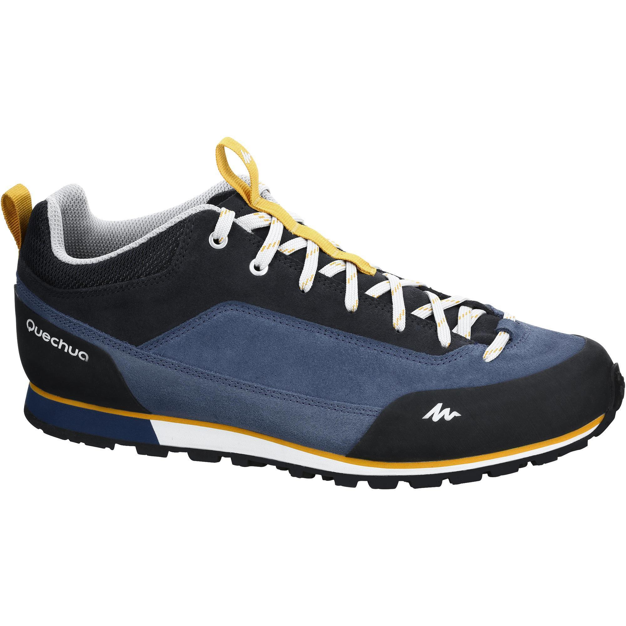 Arpenaz 500 Men S Hiking Shoes Blue Quechua