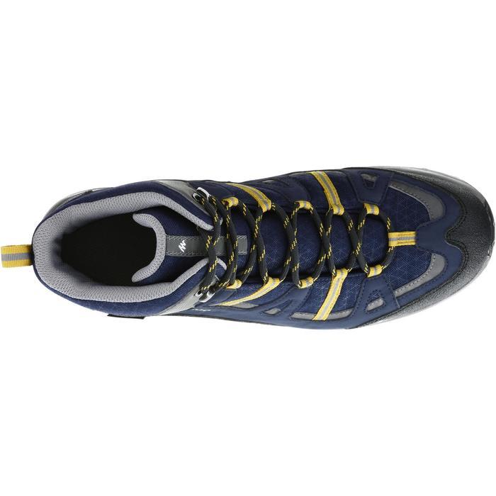 Chaussure Randonnée Quechua Arpenaz 100 Mid Homme Imperméable - 1143417