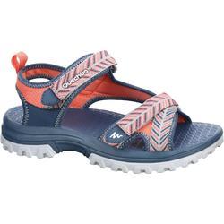 兒童健行運動涼鞋 NH500 JR 藍色