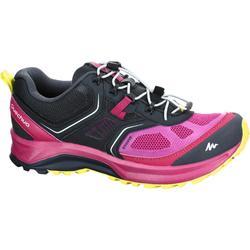 女性健行運動鞋 FH500 Helium - 紫色/黑色