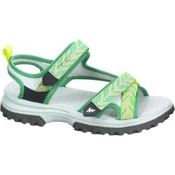 Children's hiking sandals MH120 TW yellow - JR