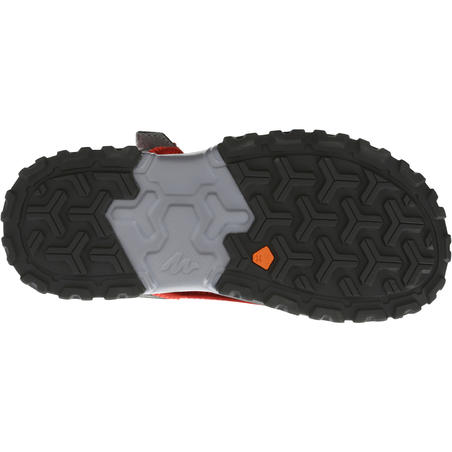 Kids' Hiking Sandals MH120 JR - Red Pix