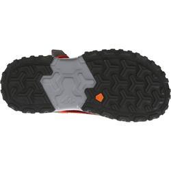 Sandalias de montaña niños NH500 JR Rojo talla 28 a 39