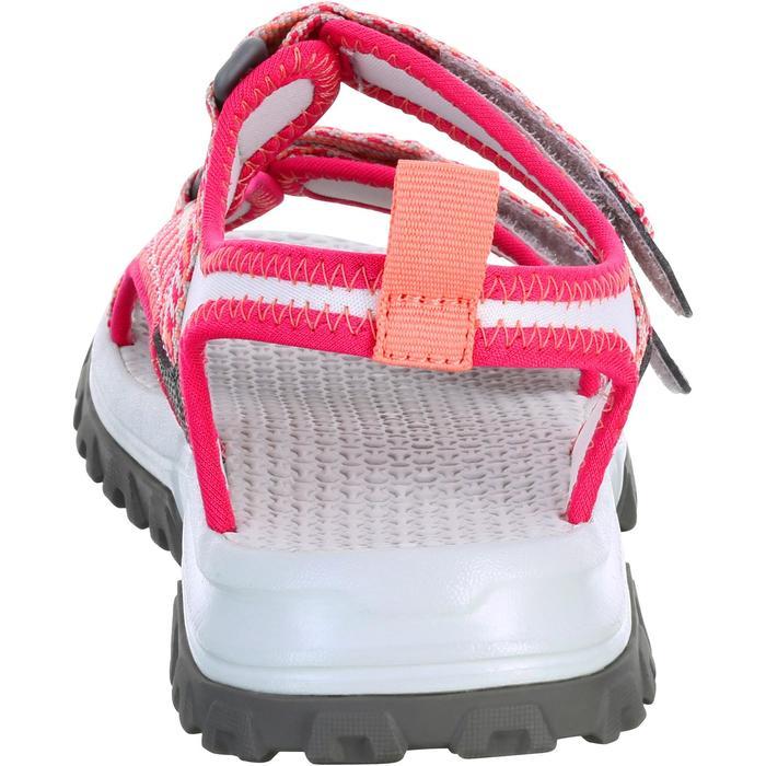 Wandersandalen NH500 Kinder Mädchen rosa