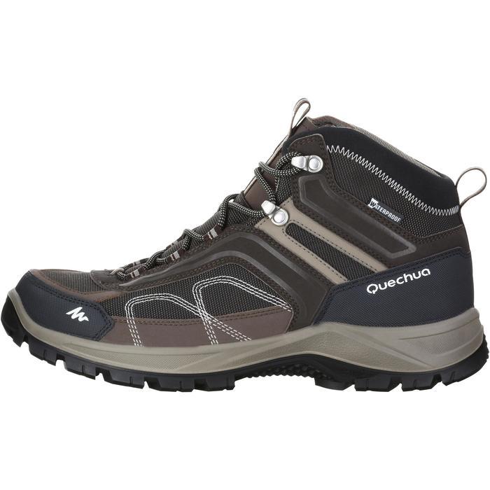 Chaussures de randonnée montagne homme Forclaz 100 Mid imperméable - 1143496