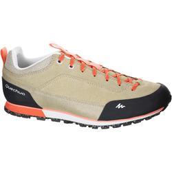 NH500 WP 男款健行鞋子米色珊瑚色