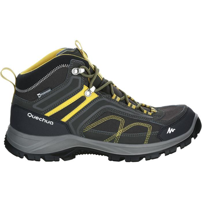 Chaussures de randonnée montagne homme MH100 Mid imperméable - 1143514