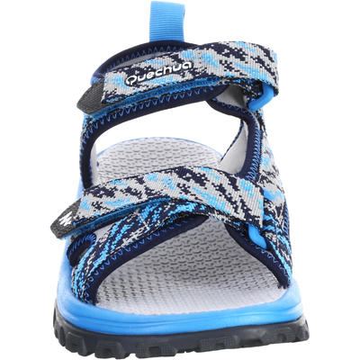 Kids' Hiking Sandals MH120 TW - Jr size 10 TO Adult size 6 - Blue