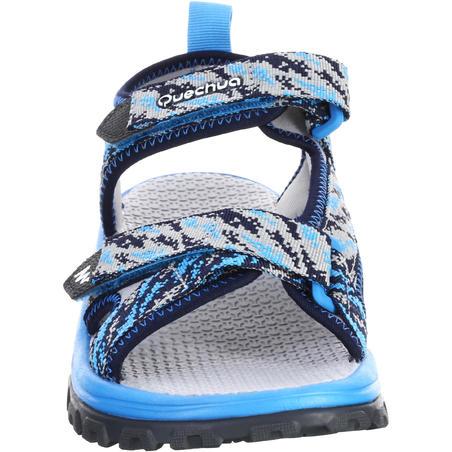 Sandales de randonnée MH120 JR bleues pix - Enfants