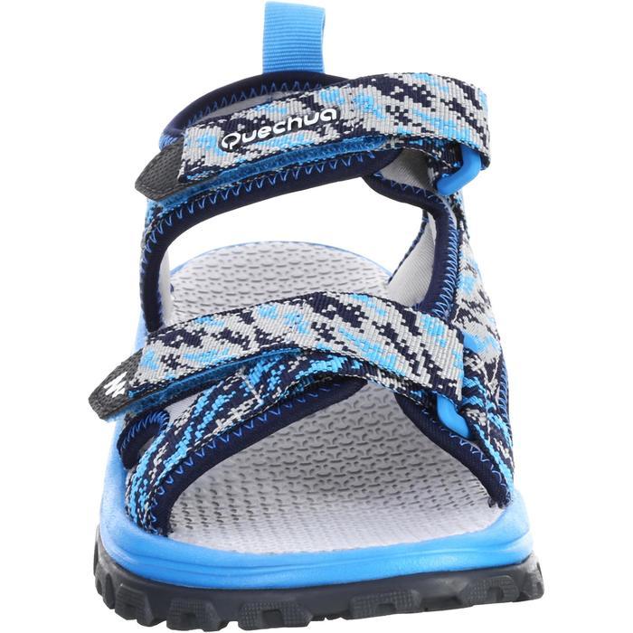 Sandales de randonnée MH120 TW bleues - enfant - 28 AU 39