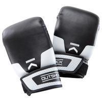 100 Beginner Punching Bag Gloves - Black