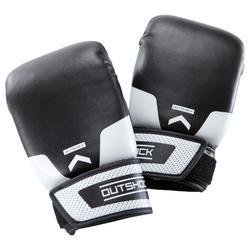 Boxhandschuhe 100 Einsteiger schwarz