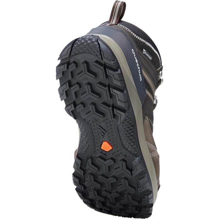 Chaussures de randonnée montagne homme Forclaz 100 Mid imperméable - 1143747