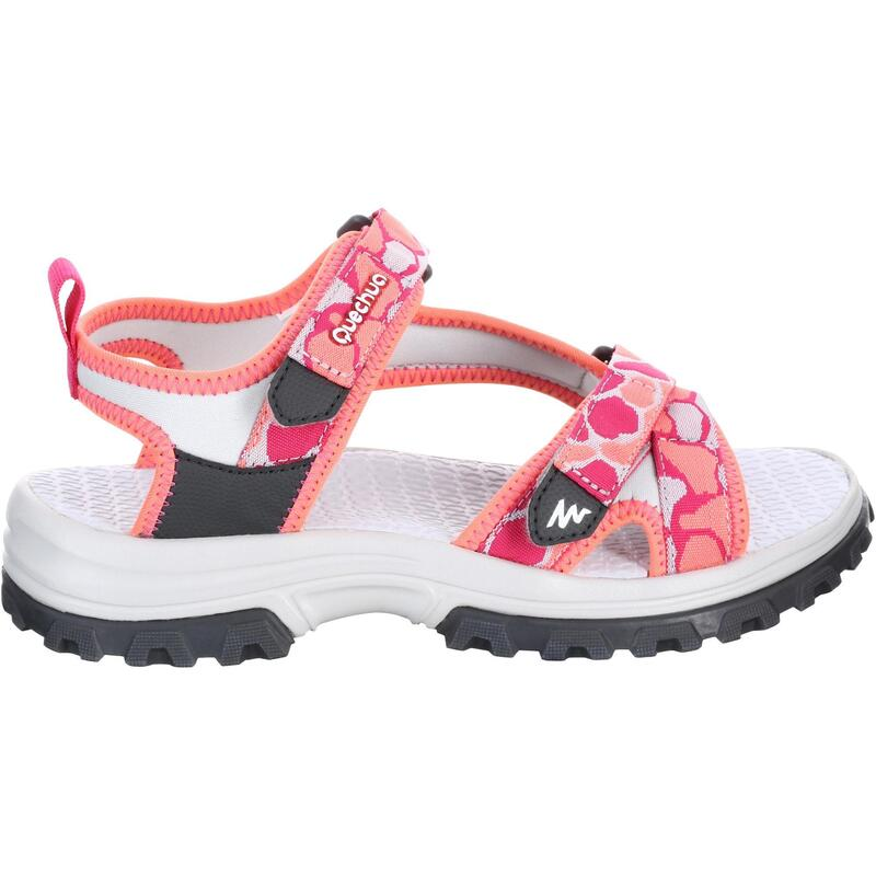 HIKING SANDALS - MH120 - PINK - SIZE 26 TO 39