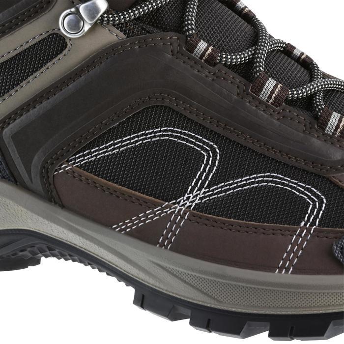 Chaussures de randonnée montagne homme Forclaz 100 Mid imperméable - 1143793
