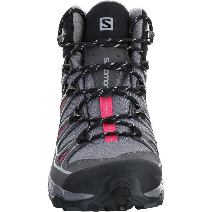 Chaussure de randonnée montagne Femme Salomon X Ultra Mid GTX Gris rose - 1143798