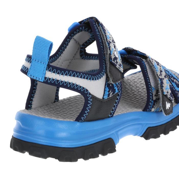 Wandersandalen NH500 Kinder Jungen blau