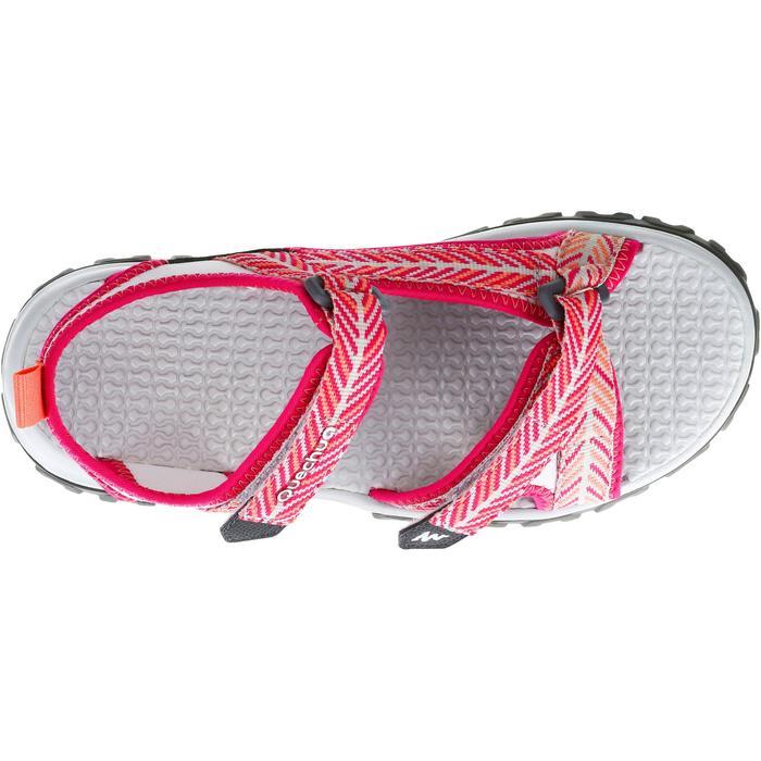 Sandalias de senderismo MH120 JR rosa
