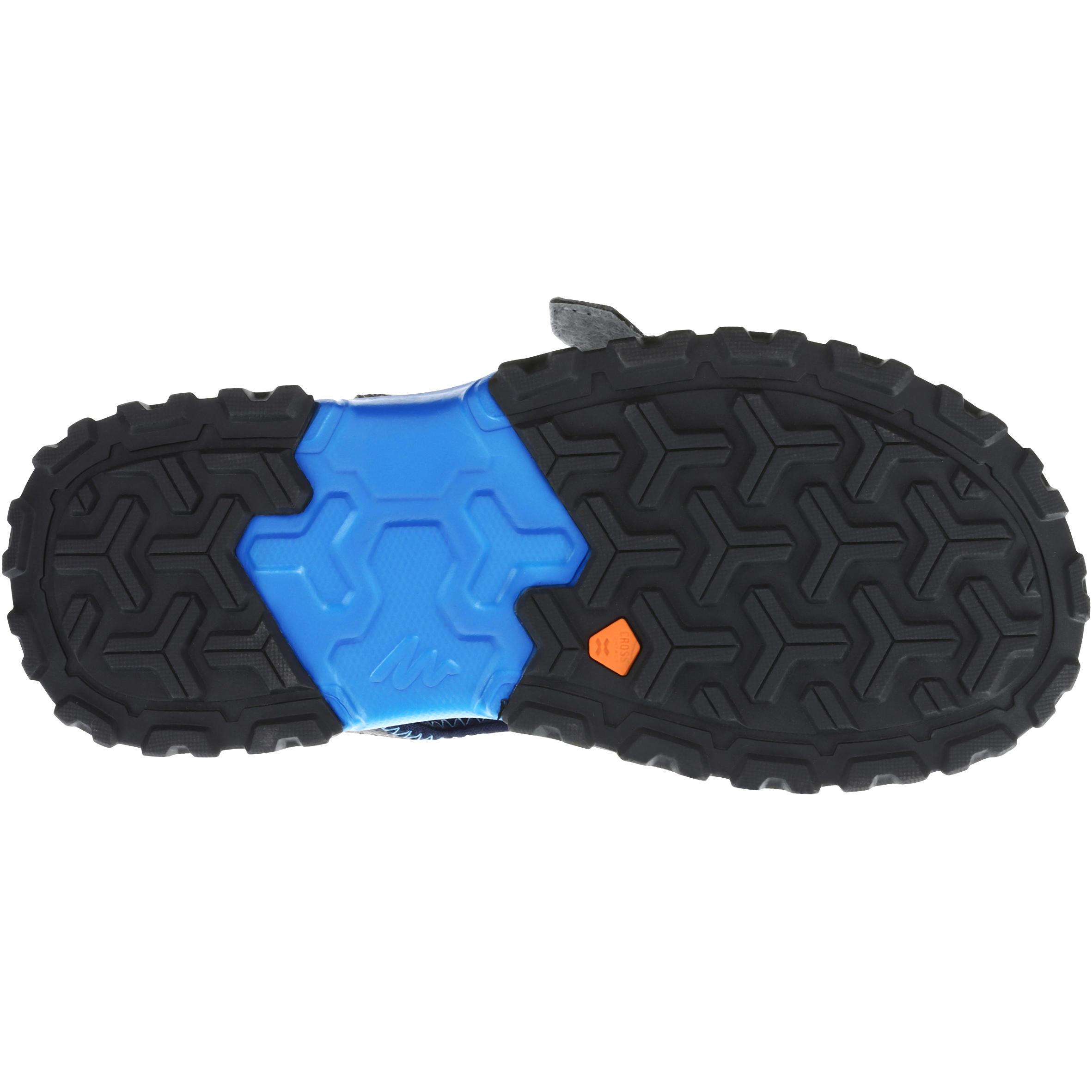 Children's MH120 JR hiking sandals - Pix Blue